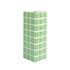 Vase Tile Large / 10.5 x 10.5 x 28 cm - & klevering