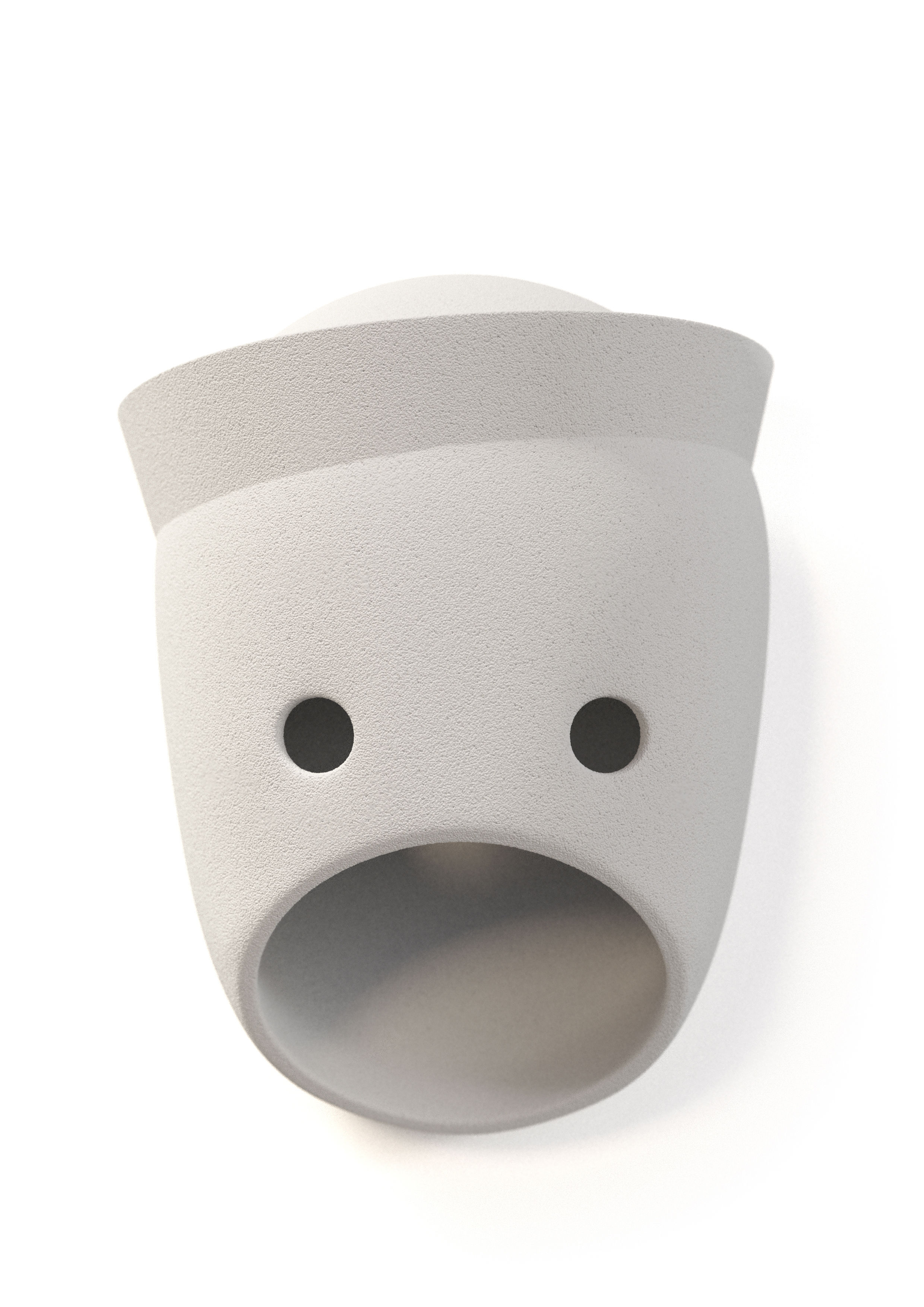 Luminaire - Appliques - Applique The Party Glenn / LED - Céramique - Moooi - Glenn / Blanc - Céramique