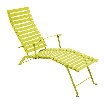 Chaise longue Bistro - Fermob verveine en métal