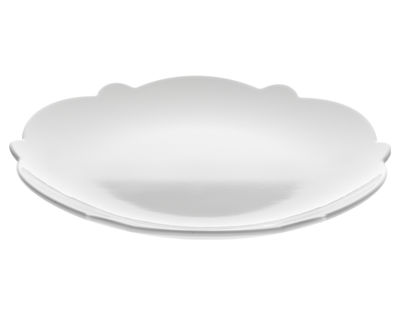 Tableware - Plates - Dressed Dessert plate - Ø 20 cm by Alessi - White - China