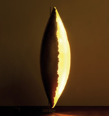 Lighting - Floor lamps - PK LED Floor lamp - Giant floor lamp by Catellani & Smith - Gold - Fibreglass, Gold leaf, Nickel plated metal