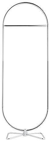 Möbel - Garderoben und Kleiderhaken - 123 Kleiderständer / Ø 169 cm - Panton 1973 - Verpan - Chrom-glänzend - Fer chromé, verchromter Stahl