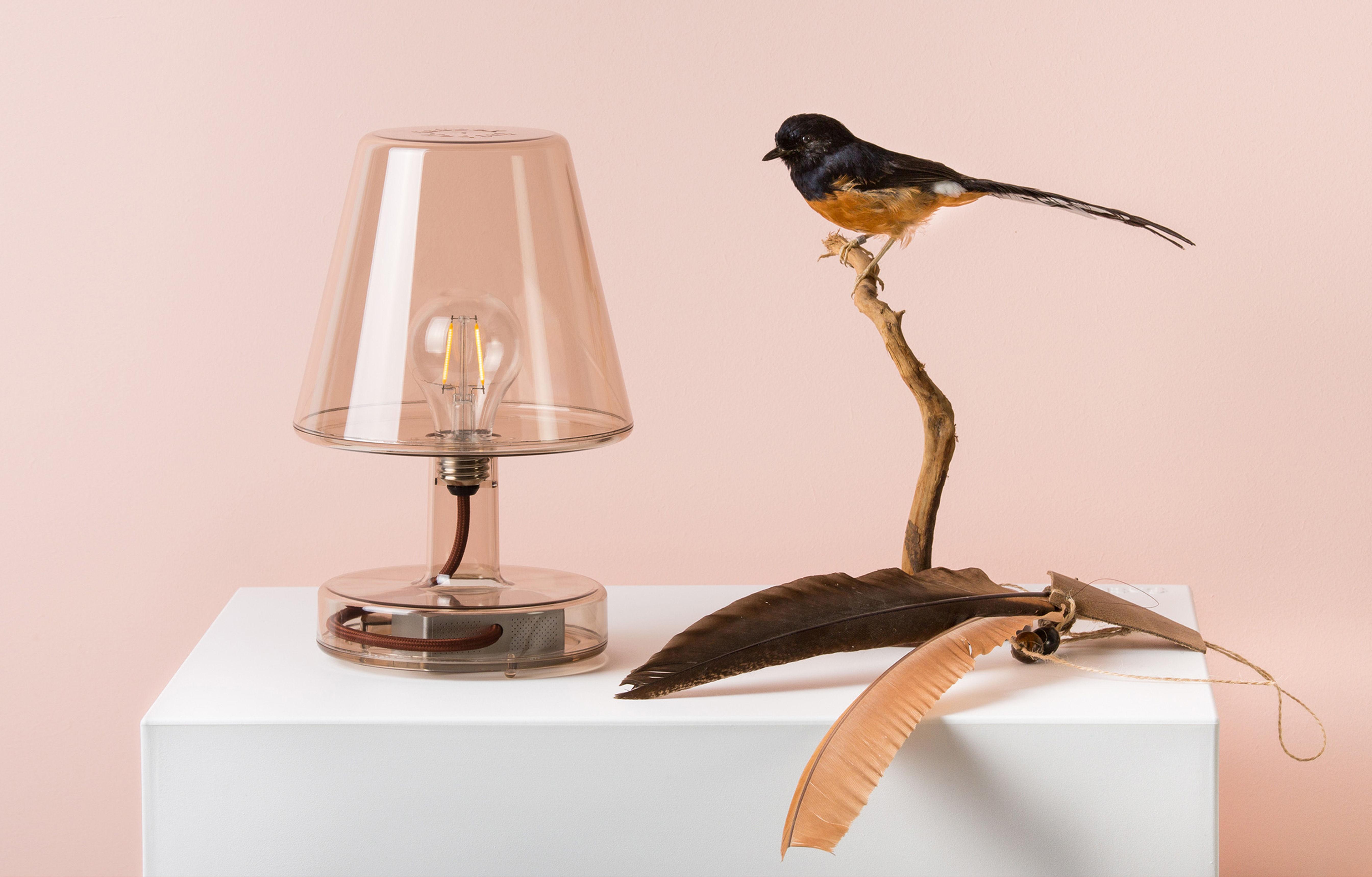 lampe ohne kabel transloetje von fatboy transparent. Black Bedroom Furniture Sets. Home Design Ideas