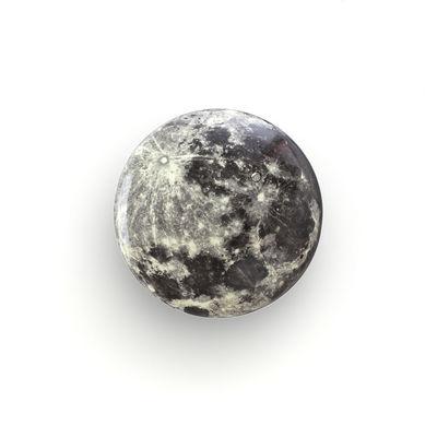 Mobilier - Portemanteaux, patères & portants - Patère Cosmic Diner - Moon / ø 17 cm - Diesel living with Seletti - Lune - Bois