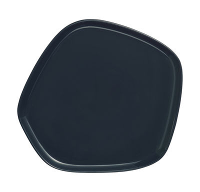 Tableware - Plates - Iittala X Issey Miyake Plate - 21 x 20 cm by Iittala - Dark green - China