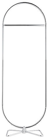Mobilier - Portemanteaux, patères & portants - Portant 123 / H 169 cm - Panton 1973 - Verpan - Chromé - Acier chromé, Fer chromé