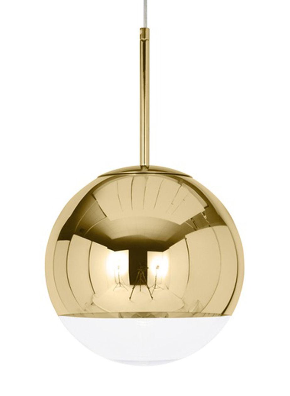 suspension mirror ball 50 cm or tom dixon made in design. Black Bedroom Furniture Sets. Home Design Ideas