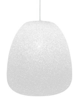 Suspension Sumo  Medium / H 37 x Ø 32 cm - Lumen Center Italia blanc en matière plastique