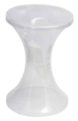 Mobilier - Mobilier Ados - Tabouret Tam Tam Krystal / Plastique - Stamp Edition - Transparent - Matière plastique