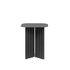 Tavolino d'appoggio Plec Small - / Acciaio - 37 x 37 x H 45 cm di RS BARCELONA