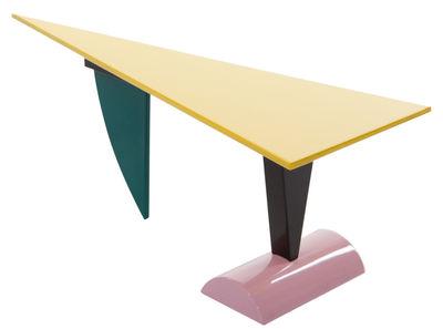 Arredamento - Tavoli - Tavolo rettangolare Brazil - by Peter Shire / 1981 di Memphis Milano - Multicolore - Legno laccato