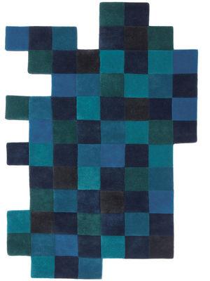 Möbel - Teppiche - Do-Lo-Rez Teppich 184 x 276 cm - Nanimarquina - Blautöne - Wolle