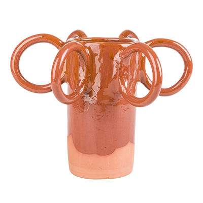 Déco - Vases - Vase Poulpe / Edition limitée Noël 2020 - Fait main - PIA CHEVALIER - Terracotta - Faïence émaillée