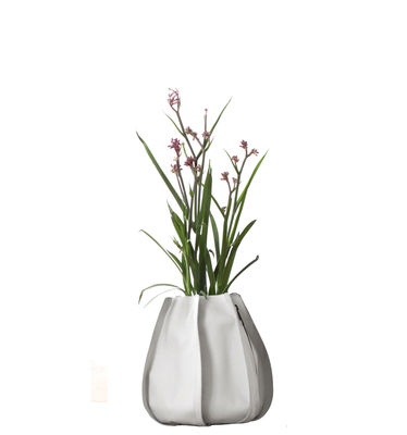 Outdoor - Vasi e Piante - Vaso per fiori Urban Garden Sack - sacco da 3 litri di Authentics - S - Beige - Tessuto poliestere