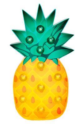 Veilleuse Ananas / Applique - Carton - H 26 cm - Sunnylife jaune,vert en papier