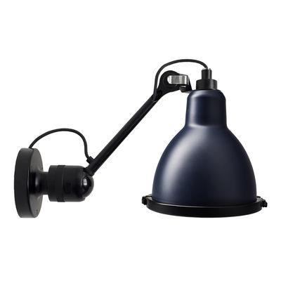 Applique d'extérieur 304 XL Outdoor Seaside / Orientable - Ø 22 cm / Rond - DCW éditions bleu,noir en métal