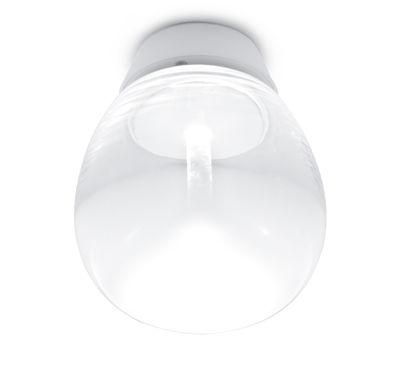 Applique Empatia LED / Plafonnier - Ø 16 cm - Artemide blanc,transparent en métal