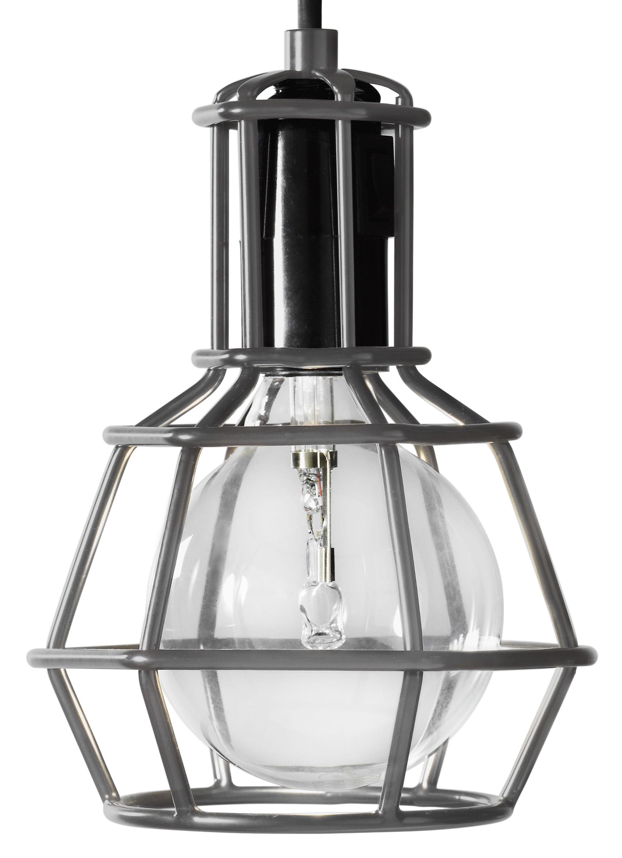 Luminaire - Lampes de table - Baladeuse Work / à poser ou suspendre - Edition limitée - Design House Stockholm - Gris - Métal peint