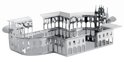 Centre de table 100 Piazze - Venaria Reale - Driade Kosmo gris/argent en métal