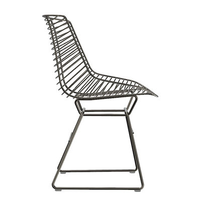 Furniture - Chairs - Flow Filo Chair by MDF Italia - Black - Steel