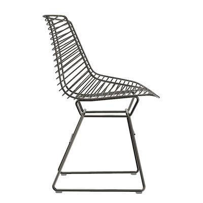 Mobilier - Chaises, fauteuils de salle à manger - Chaise Flow Filo - MDF Italia - Noir - Acier