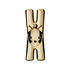 Lampo Chat Clasp - / Magnetic - Sold individually by A di Alessi