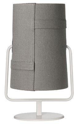 Lampe de table Fork Mini / H 36 cm - Diesel with Foscarini gris,ivoire en métal