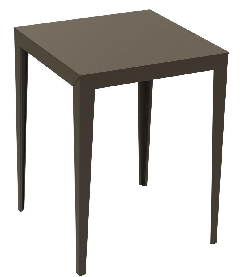 mange debout zonda 80 x 80 x h 105 cm 80 x 80 cm taupe mati re grise made in design. Black Bedroom Furniture Sets. Home Design Ideas