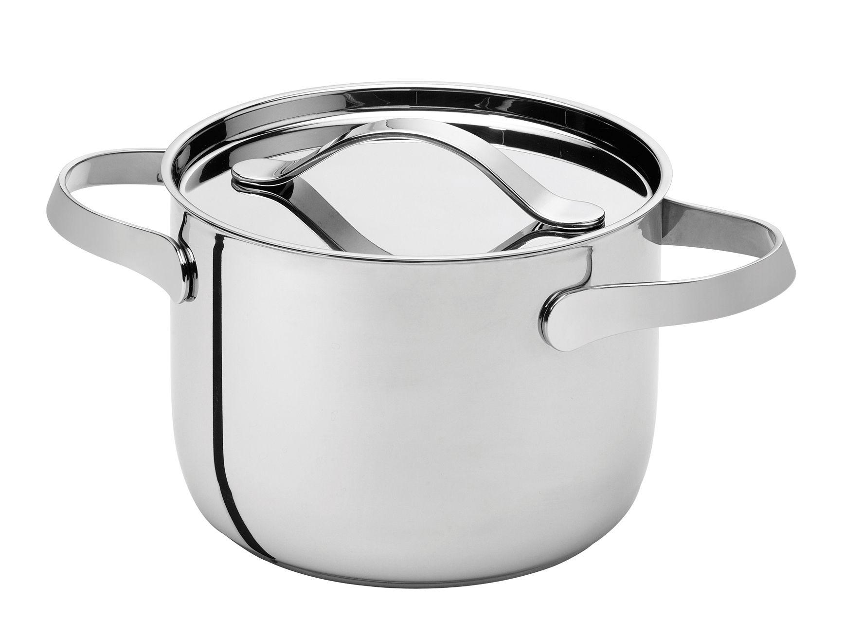 Cuisine - Casseroles, poêles, plats... - Marmite Al Dente Ø 24 cm / 7L - Sans couvercle - Serafino Zani - Ø 24 cm - Inox brillant - Acier inoxydable poli