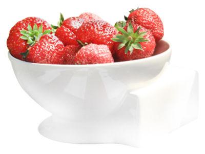 Tischkultur - Salatschüsseln und Schalen - Reveal Schale / Ø 14,5 cm - Thelermont Hupton - Blasses Cremeweiß / Ø 14,5 cm - Fayence