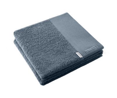 Serviette de toilette / 50 x 100 cm - Eva Solo bleu acier en tissu