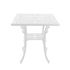 Industry Garden Square table - / 70 x 70 cm by Seletti
