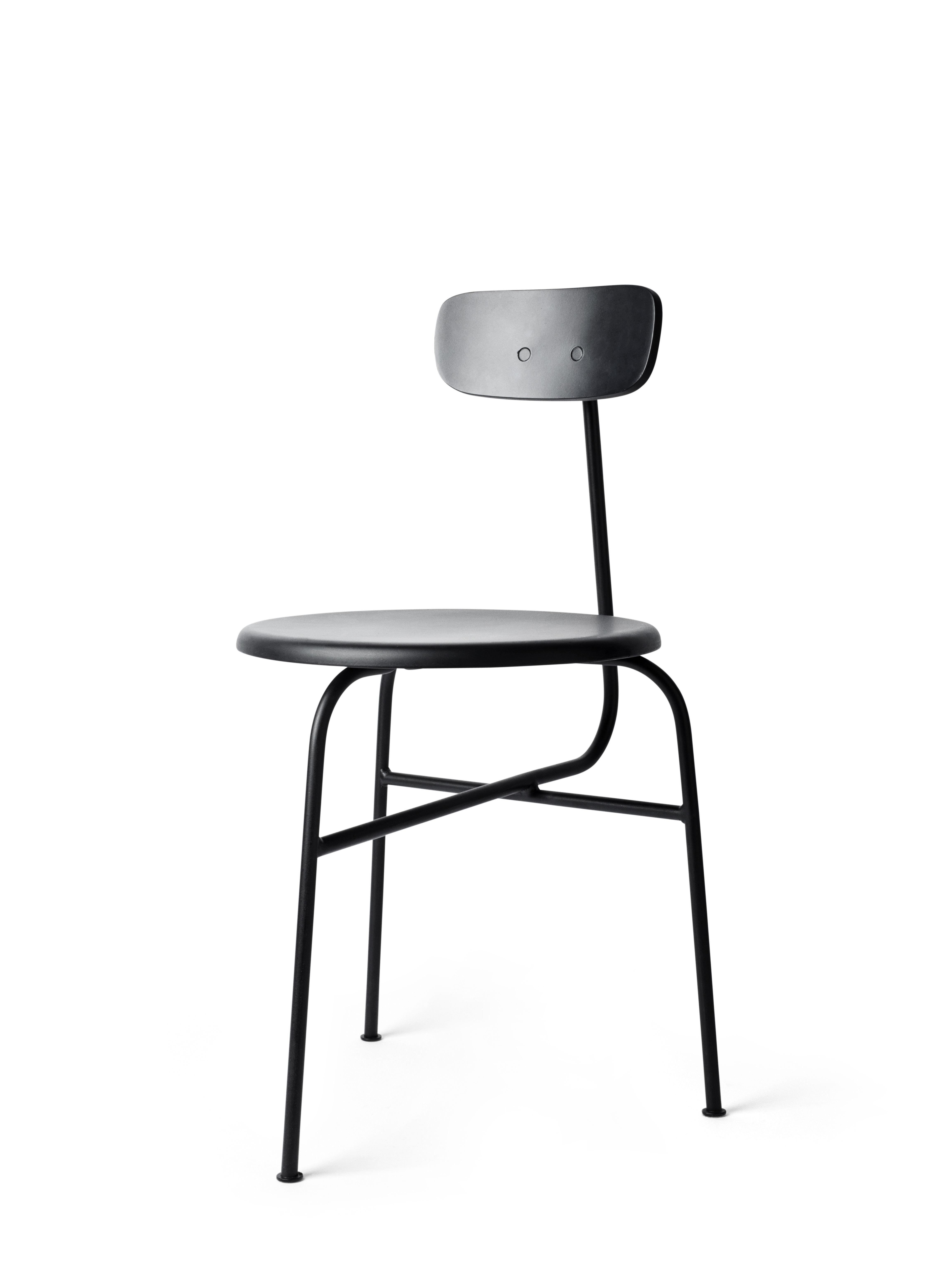 afteroom stuhl sitzfl che aus holz schwarz by menu made in design. Black Bedroom Furniture Sets. Home Design Ideas