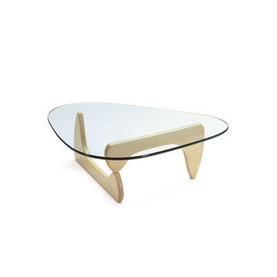 Mobilier - Tables basses - Table basse Noguchi Coffee Table / By Isamu Noguchi (1944) / 128 x 93 cm - Vitra - Erable - Érable massif, Verre