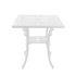Table carrée Industry Garden / 70 x 70 cm - Métal ajouré - Seletti