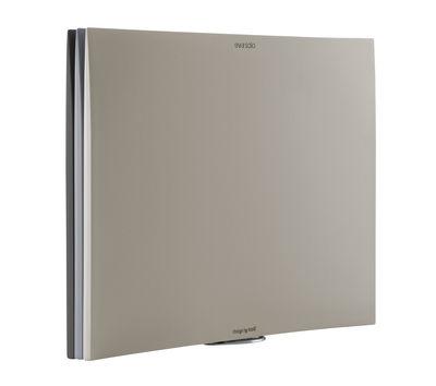 Cucina - Utensili da cucina - Tagliere - / Set di 3 con supporto di Eva Solo - Sfurature di grigio - Alluminio, Plastica