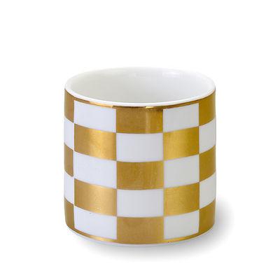 Arts de la table - Tasses et mugs - Tasse Sibilla / Ø 8 x H 8 cm - Bitossi Home - Quadrillage - Porcelaine