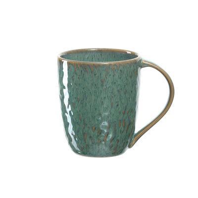 Tavola - Tazze e Boccali - Tazza Matera - / Gres - 430 ml di Leonardo - verde - Gres smaltato
