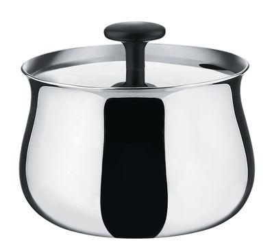 Küche - Zuckerdosen und Milchkännchen - Cha Zuckerdose - Alessi - Acier poli miroir - Acier inoxydable poli miroir