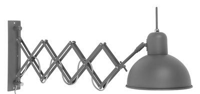 Applique avec prise Aberdeen / Extensible & orientable - It´s about Romi gris-vert mat en métal