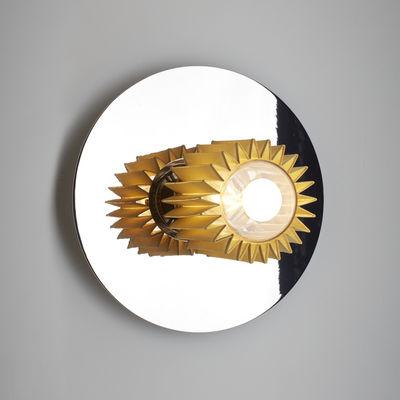 Applique In the sun Medium / Plafonnier - Ø 27 cm - DCW éditions or,chromé en métal