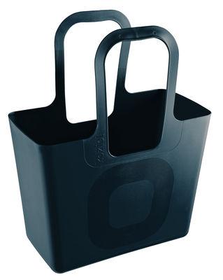 Decoration - For bathroom - Tasche XL Basket by Koziol - Black - Plastic material
