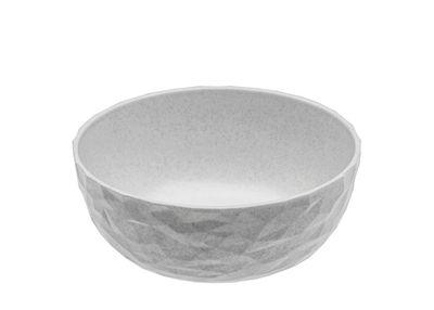 Tableware - Bowls - Club Bowl - / Ø 16 x H 6 cm - Organic plastic by Koziol - Organic grey - Organic plastic
