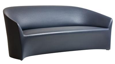 Canapé droit PineBeach L 180 cm Intérieur extérieur Serralunga noir en matière plastique