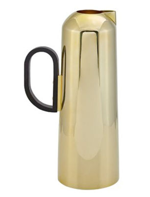 Tableware - Water Carafes & Wine Decanters - Form Carafe by Tom Dixon - Gold - Bakelite, Brass