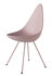 Drop Chair - / Plastic shell - Reissue 1958 by Fritz Hansen