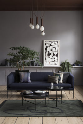 Coffee Table Marble By Ferm Living Brown Made In Design Uk