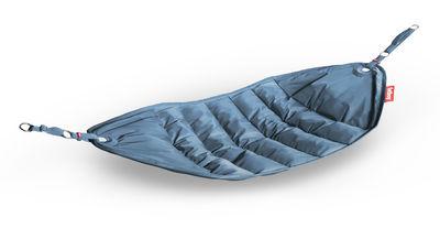 Hamac Headdepleck / à suspendre - Fatboy bleu pétrole en tissu