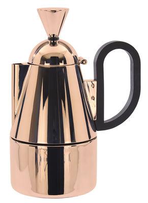 Tischkultur - Tee und Kaffee - Brew italienischer Kaffeebereiter / fasst 4 Tassen - Tom Dixon - Kupfer - Nylon, rostfreier Stahl