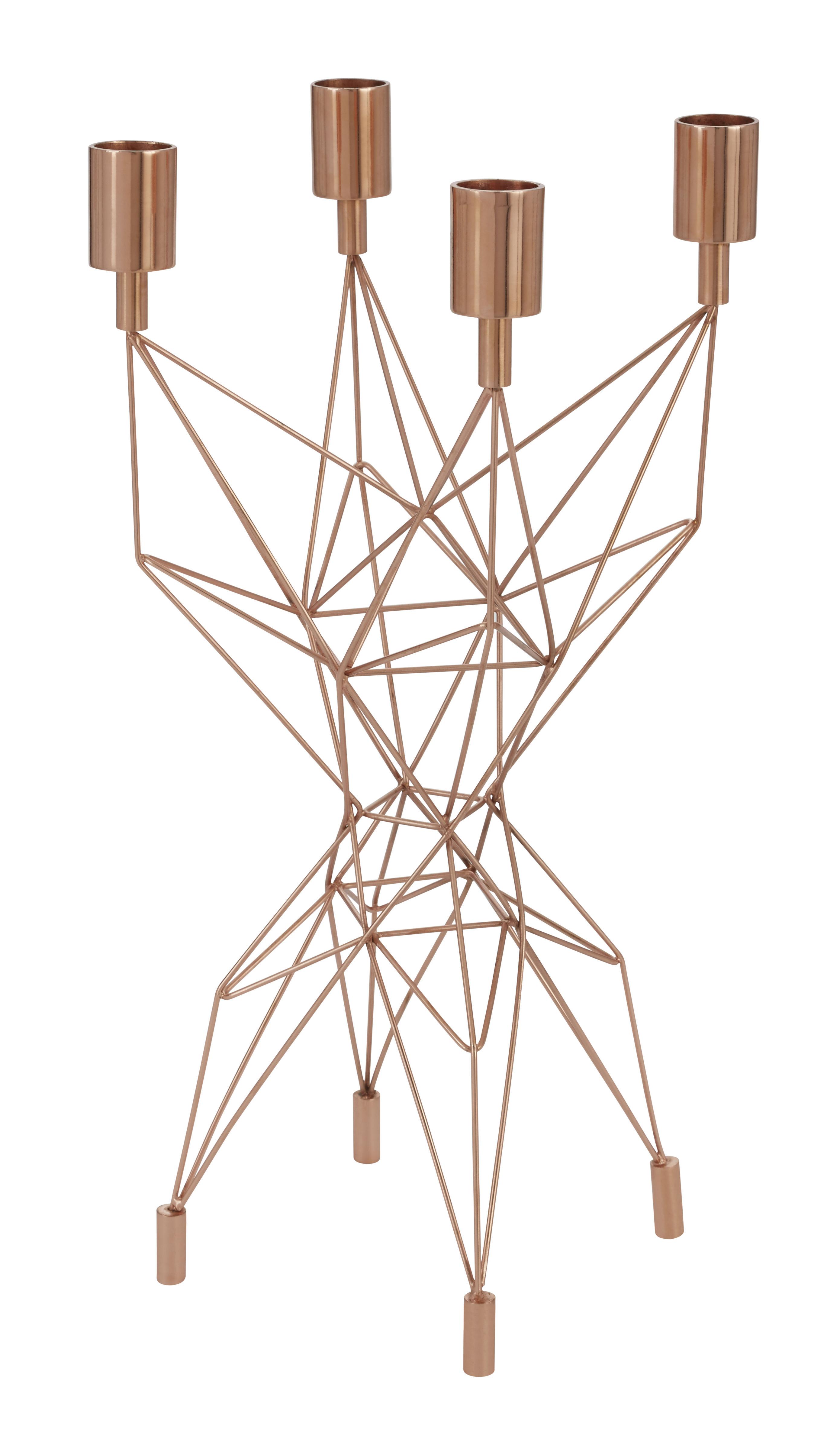 Pylon Kerzenleuchter Kupfer By Tom Dixon
